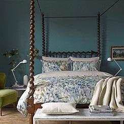 Christy - Green 'Sofia' 200 thread count cotton percale duvet set