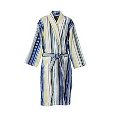 Christy - Blue 'Capsule Stripe' Robe