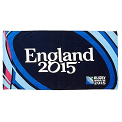 Christy - Midnight 'Rugby World Cup' beach towel