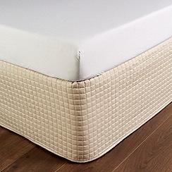 Christy - Pale Stone 'Metropolitan' 300 Thread Count Cotton Valance Sheet