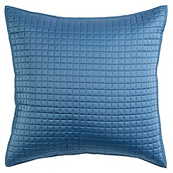 Christy - Slate Blue 'Metropolitan' 300 Thread Count Cotton Cushion