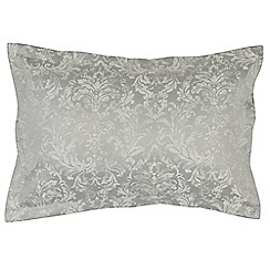 Christy - Silver Grey 'Palermo' pillowcase pair