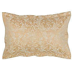 Christy - Rich Gold 'Palermo' pillowcase pair