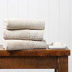 Christy - Linen 'Agadir' 550gsm cotton jacquard towel
