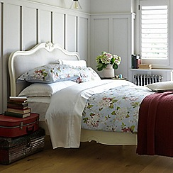 Christy - Spring Blue 'Annabelle' 200 Thread Count Cotton Sateen Bedding Set