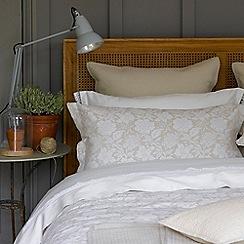 Christy - Linen 'Botanist' 200 Thread Count Cotton Percale Duvet Set