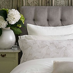 Christy - Pearl Grey 'Emily' 200 Thread Count Cotton Percale Oxford Pillow Case Pair