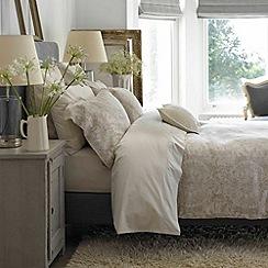 Christy - Linen 'Salisbury' 200 Thread Count Linen Jacquard Duvet Set