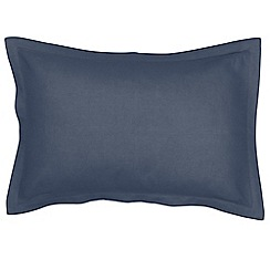 Christy - Denim 'Belgian Linen' Oxford pillowcase pair