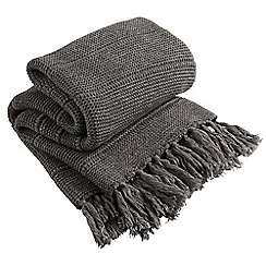 Christy - Charcoal 'Agnes Accessories' throw