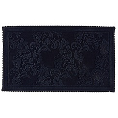 Christy - Midnight 'Fabel' large bath mat