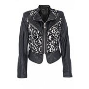 Black PVC Lace Jacket