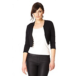 Quiz - Black crop jacket