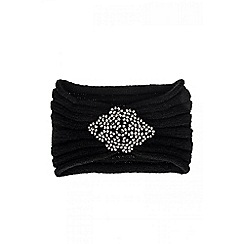 Quiz - Black Facet Headband