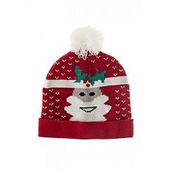 Quiz - Red Santa Pom Hat