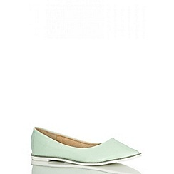 Quiz - Mint Diamante Rim Pumps