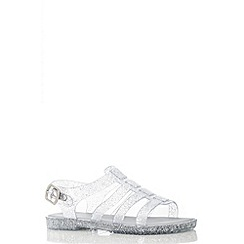 Quiz - Clear Cage Jelly Sandals