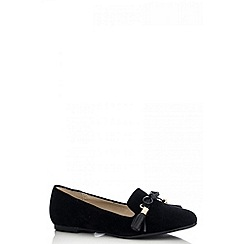 Quiz - Black tassel pumps