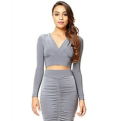 Quiz - Silver stretch v front top