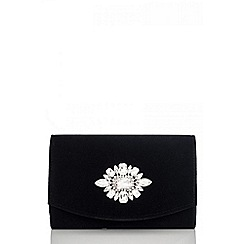 Quiz - Black jewel trim bag