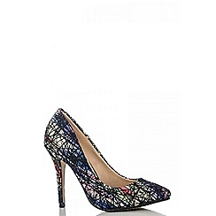 Quiz - Multi colour point court shoes