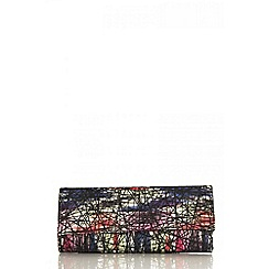 Quiz - Multi colour clutch bag