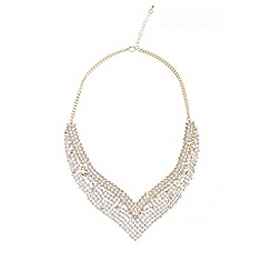 Quiz - Gold diamante v necklace