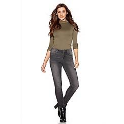 Quiz - Grey skinny jeans