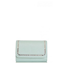 Quiz - Mint Diamante Stone Bag