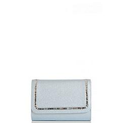 Quiz - Blue Diamante Stone Bag