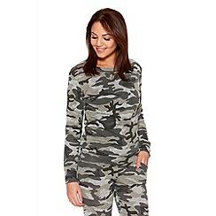 Quiz - Camouflage Sweatshirt
