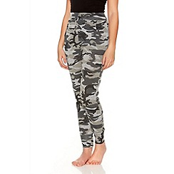 Quiz - Camouflage Jogging Trousers