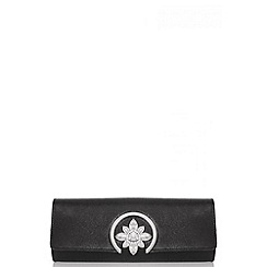 Quiz - Black Circle Jewel Bag