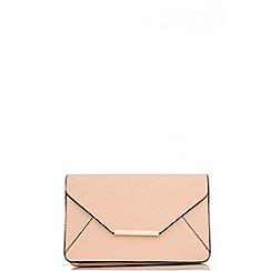 Quiz - Pink PU Envelope Bag