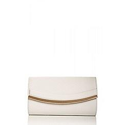 Quiz - White Curve Trim Bag