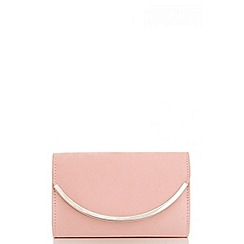 Quiz - Pink faux suede small bag