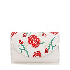 Quiz - White embroidered bagß