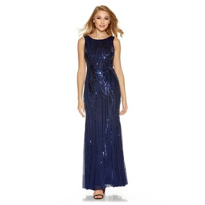 Quiz midnight blue sequin dress