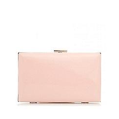 Quiz - Pink patent box bag