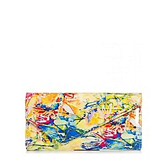 Quiz - Rio print clutch bag