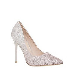 Quiz - Silver and pink ombre courts shoes