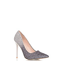 Quiz - Silver and grey ombre courts shoes
