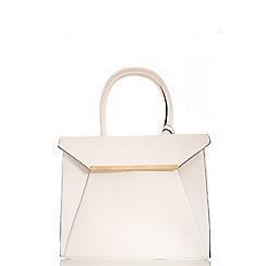 Quiz - White large tote bag