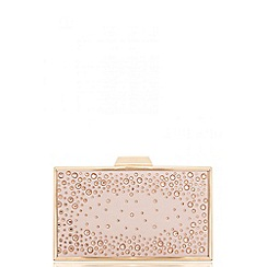 Quiz - Blush pink jewel box bag