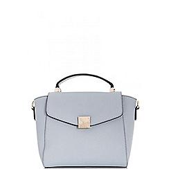 Quiz - Blue small tote bag