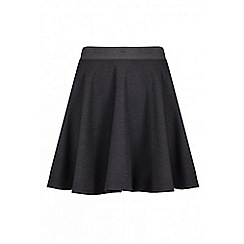 Quiz - Black skater skirt