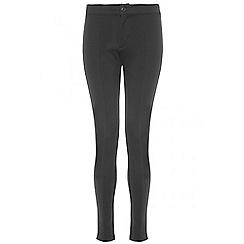 Quiz - Black stretch skinny high waist trousers
