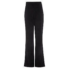 Quiz - Black high waist wide leg trousers