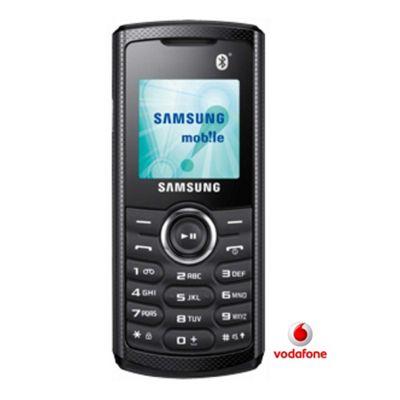 samsung e2121b prepay mobile phone on vodafone