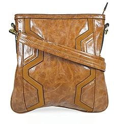 Gionni Accessories - Tan ' Ashley ' Crossbody